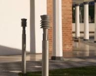 Colonnade lighting. Photo: James Newton
