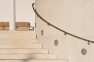 Sweeping handrail. Photo: James Newton