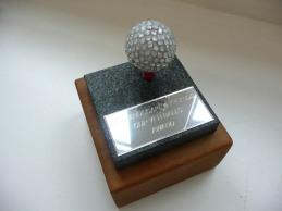 Inter office golf trophy!