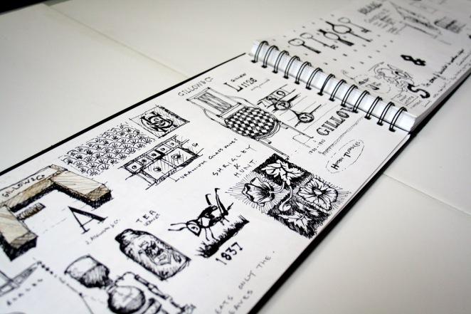 Sketch Book Inspiration