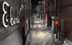 Eberle Street - Evening Visual 1 - BCA Landscape 2015